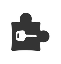Solutions icon vector