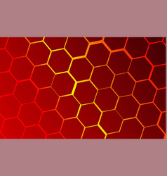 Technological background of bee honeycombs vector