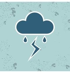 weather forecast design vector image