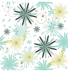 flovers background vector image vector image
