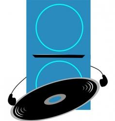 headset vector image