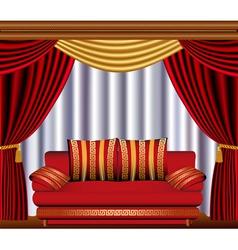 Theatre Lounge vector image