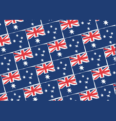 Abstract australian flag or banner vector