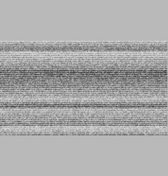 abstract digital pixel noise with lines uproar vector image