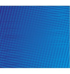 Blue stripe plaid pattern vector