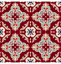 christmas seamless pattern tiled vector image vector image