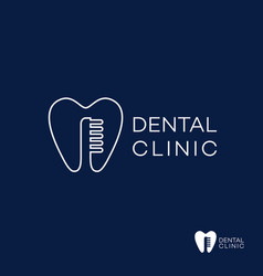 Dental clinic vector