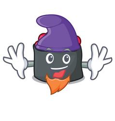 Elf ikura character cartoon style vector