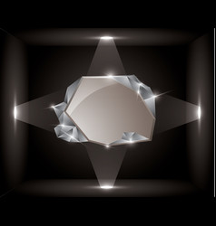 Empty frame in a cube vector