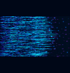 Matrix data stream design electronic signal vector