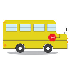 School-bus vector