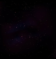 Space stars background vector