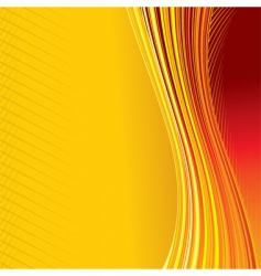 heat background vector image vector image