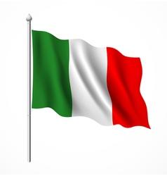Flag of italian vector image vector image