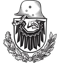 Germany Emblem vector image vector image