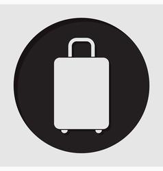 information icon - suitcase vector image vector image