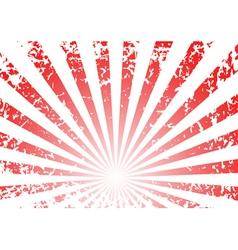 grunge sunrise background vector image vector image