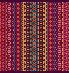 colorful seamless pattern mandala design vector image