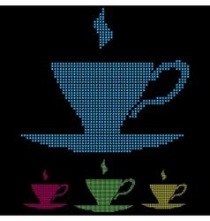 Cups vector
