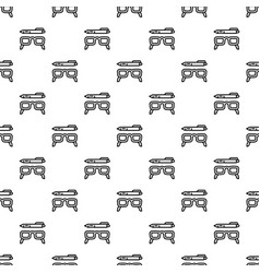 Glasses and pen pattern seamless vector