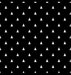 seamless pattern with small white triangles on a vector image