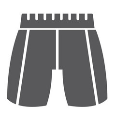 trousers glyph icon clothing and fashion pants vector image