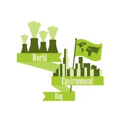 World environment day 5th june environmental vector