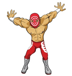 Wrestler vector