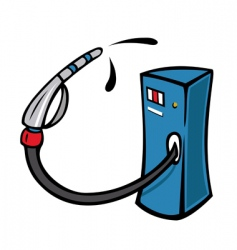 gaspump vector image