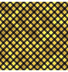 Seamless fashion pattern with gold diamonds vector image vector image