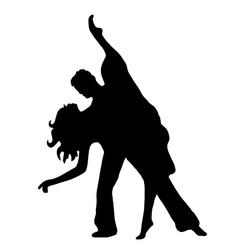 Pair latino dance vector image