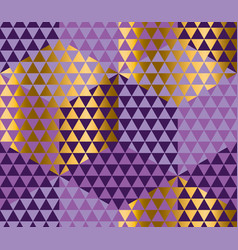 geometry motif in luxury carnival style harlequin vector image