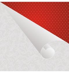 wallpaper corner vector image vector image