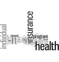 Individualhealthinsurance vector