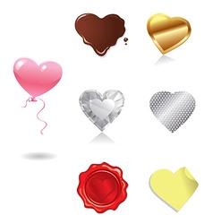 Love heart380x400 vector
