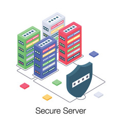 Secure database vector