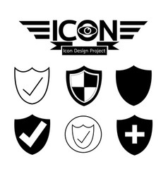 Secure icon vector