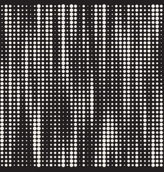 set 50 halftone circles grids invert vector image