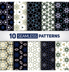 Stylish backdrops collection vector