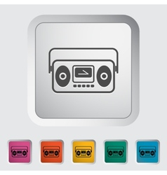 Boombox vector image vector image