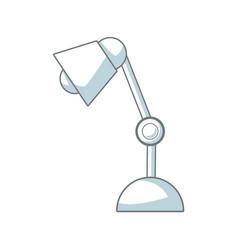 desk lamp bulb light electric equipment vector image