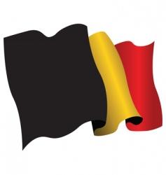 Belgium flag vector image vector image