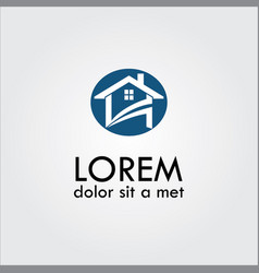 home sale property logo icon vector image