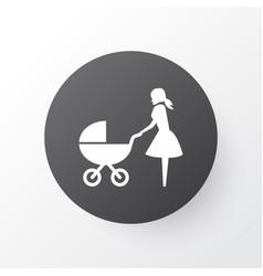 Perambulator icon symbol premium quality isolated vector