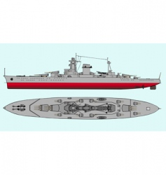 military navy ships vector image