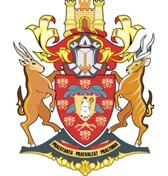 Pretoria seal vector image