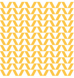 abstract background pattern of rectangles yellow vector image