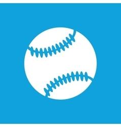 Baseball ball icon simple vector image