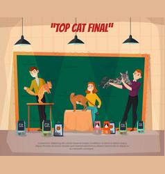 Car show final poster vector