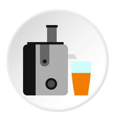 Juicer icon circle vector